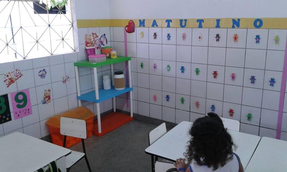 Decoração de sala de aula Educação Infantil com Ursinhos e Pregadores