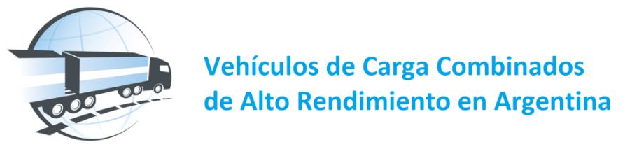Vehículos de Carga Combinados de Alto Rendimiento en Argentina