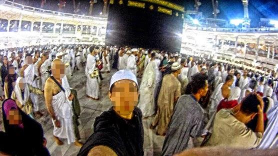 Gesa Henti Ambil Gambar Di Masjidil Haram