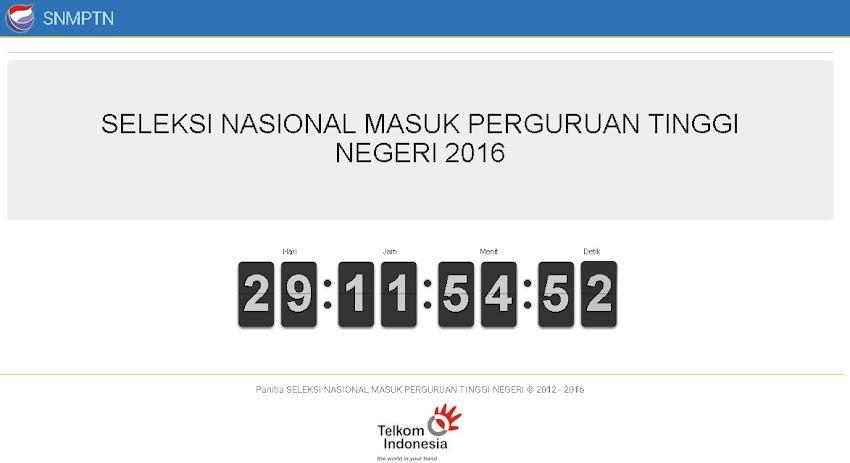 29 Hari Lagi Launching Tema Portofolio SNMPTN 2016