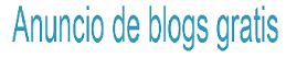 Anuncio de blogs grátis