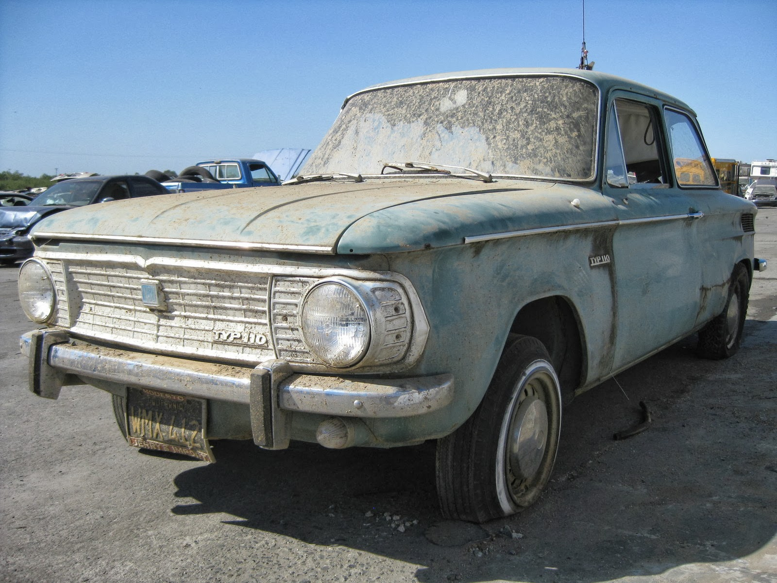 0.5k: Lost & Found: 1967 NSU Typ 110 Junkyard Find