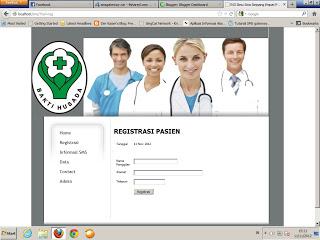 Sistem informasi rumah sakit dengan PHP