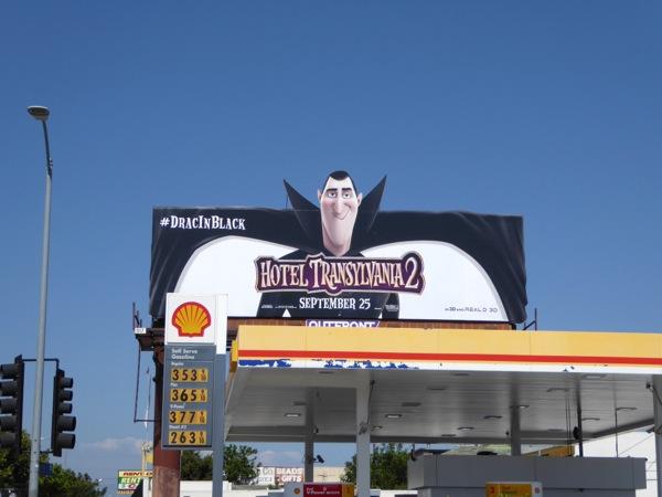 Hotel Transylvania 2 Dracula billboard