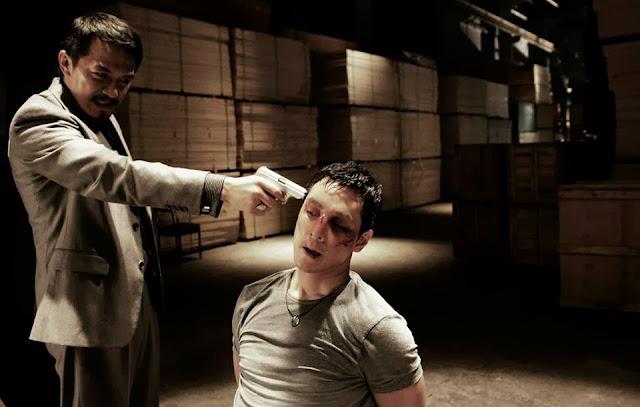 Control 2013 movie still - Daniel Wu at gunpoint by Leon Dai