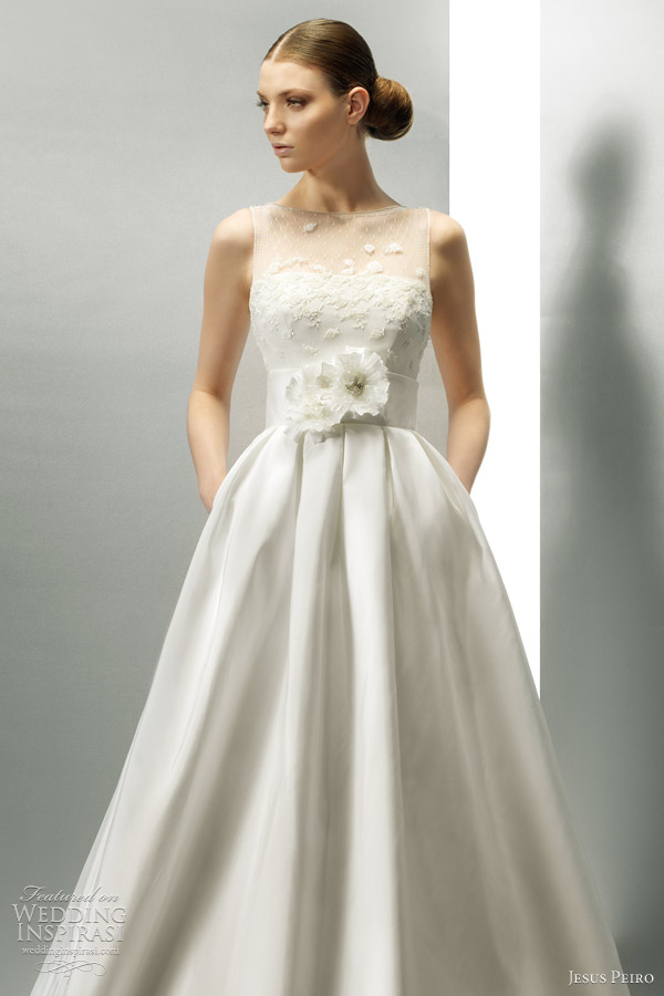 just bee fashion hot trend pocket wedding dress