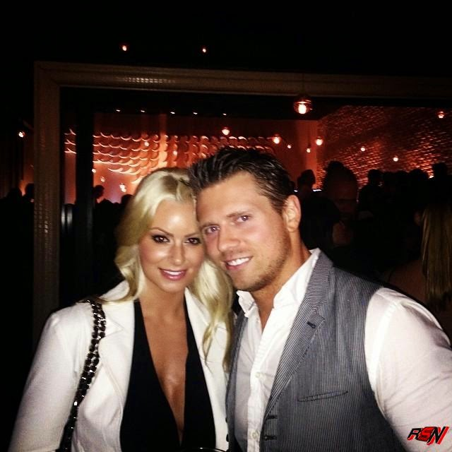 New Photo Of The Miz And Maryse Together.