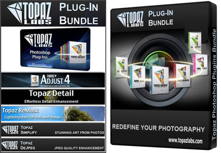 Topaz Photoshop Plugins Bundle (20.06.2013)