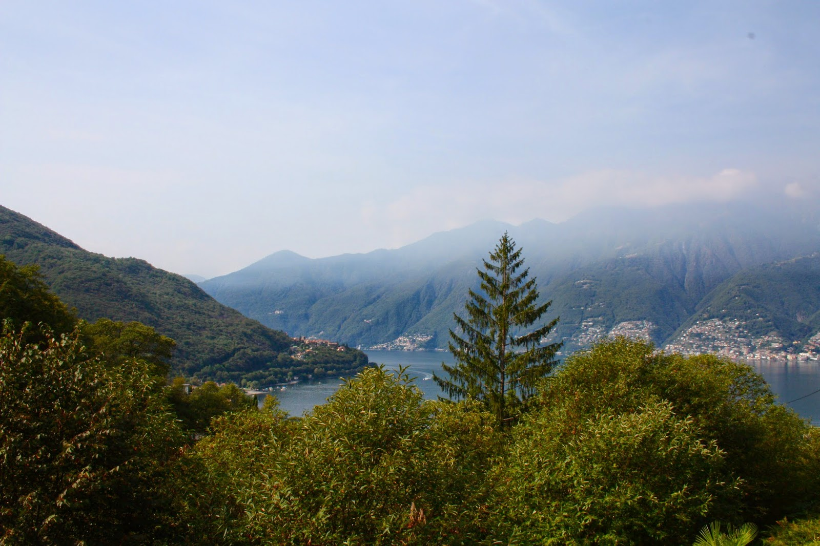 Berge Urlaub Fernreise Europa Ferien 2014 Tessin Italien Schweiz Mittelmeer See Reise