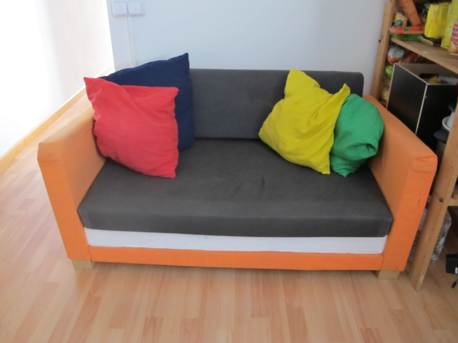 muebles cama ikea segunda mano sof cama plazas tullinge marrn grisceo ikea