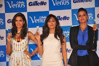 Esha, Chitrangada, Neha at Gillette Venus Shaving System launch event