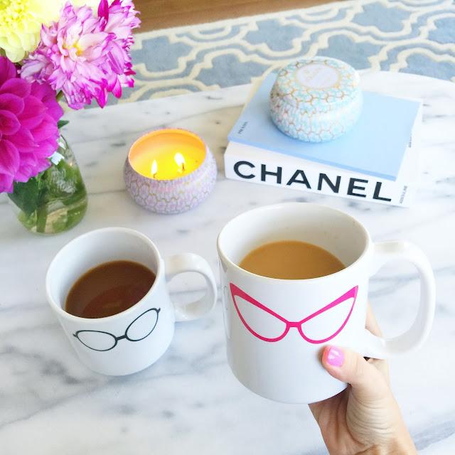 Coffee mugs..
