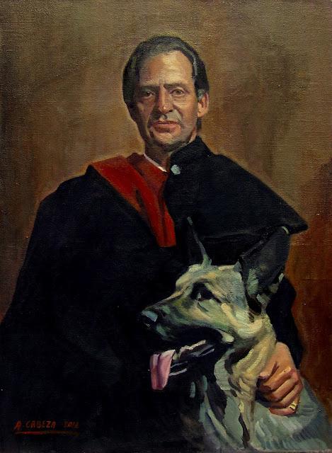 Retrato del rey, Alejandro Cabeza