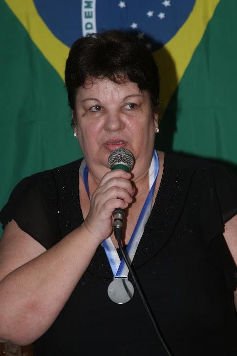 ELIANE MARIATH DANTAS Presidente da ALAP - Academia de Letras e Artes de Paranapuã e da FALARJ - Fe