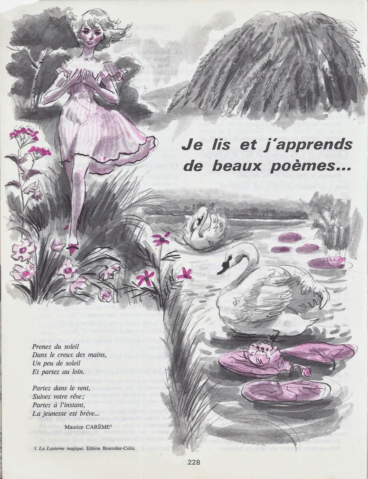 Manuels Anciens Poemes Cm2