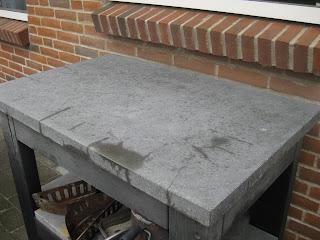 Støbe vask i beton