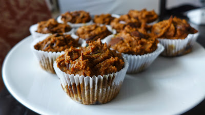 pumpkin muffins (gluten free)