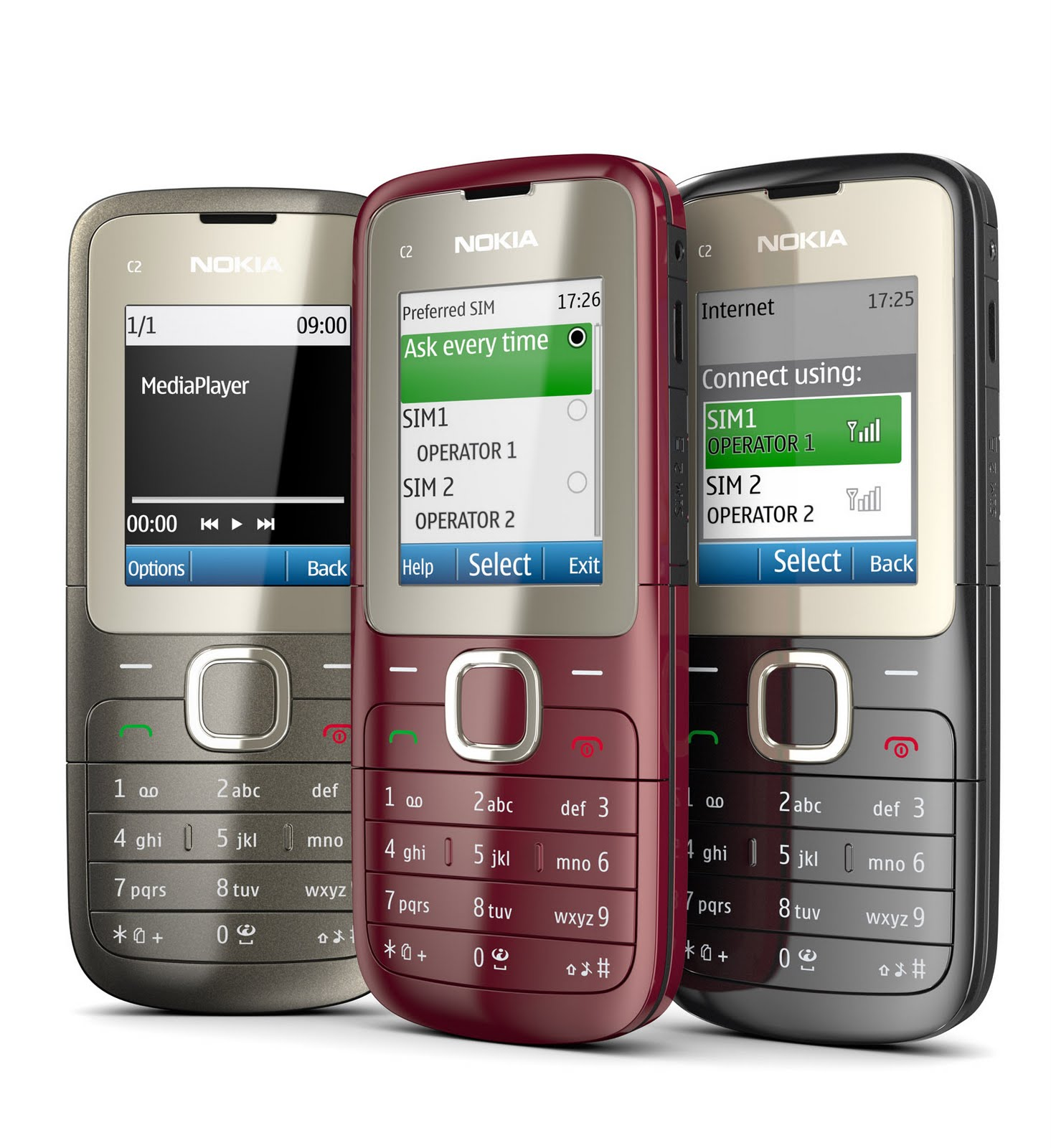 nokia c2 00 review pics and price a dual sim phone with. Black Bedroom Furniture Sets. Home Design Ideas