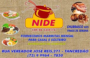 Comida caseira da Nide