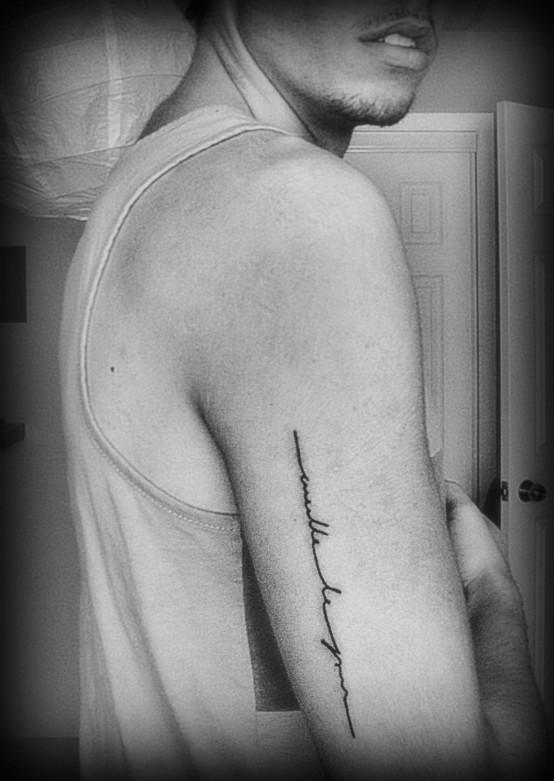 Hand Tattoo Words