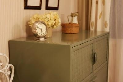 upcycled 70's dresser