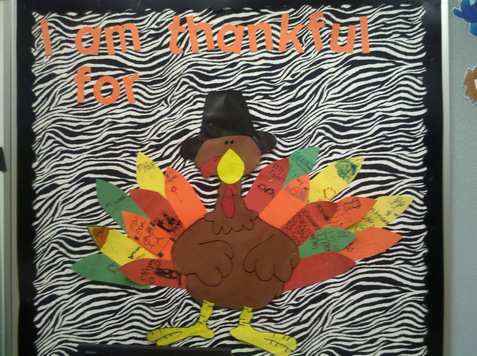 Thanksgiving Bulletin Boards Fun In First