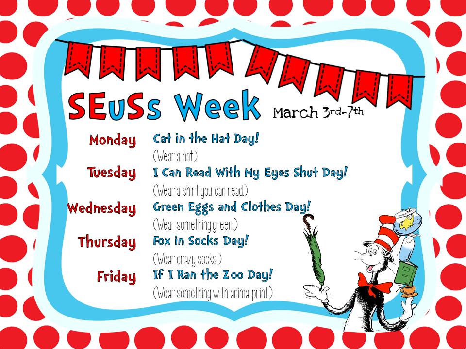 Smithville Elementary Library Happy Birthday Dr Seuss