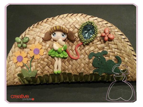 Estuche escolar de El Jardín del Edén por Sylvia Lopez Morant.