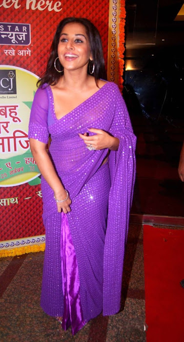 vidya balan in transparent sareeat star plus saas bahu saasish hot  images