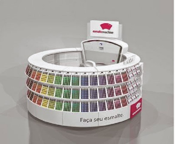"Máquina de fazer esmaltes na hora, ""Esmalte Machine"""