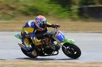 Gambar motor trail Kawasaki KSR Pro