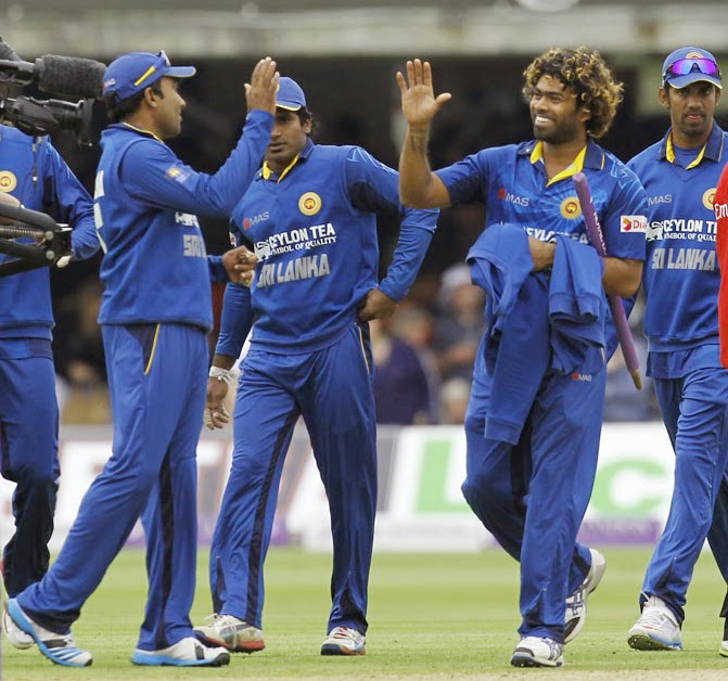 Sri Lanka beats England in 4th ODI