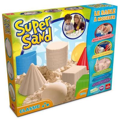 JUGUETES - SUPER SAND  Juego Clásico | Manualidades con Arena   Producto Oficial | Goliath 83216  | A partir de 4 años  Comprar en Amazon