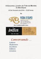 III Encontro Livreiro de Trás-os-Montes e Alto Douro