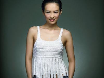 Cute Actress Zhang Ziyi Wallpaper