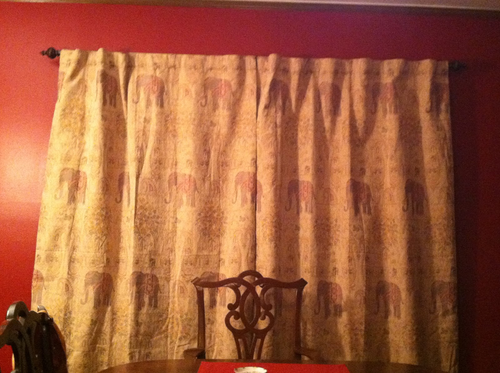 Ha ha hanging curtains interior design - Ha In The Kitchen I Got The Rest Of The Things That Needed Hanging Hung That Included My Awesome Hooks By The Back Door