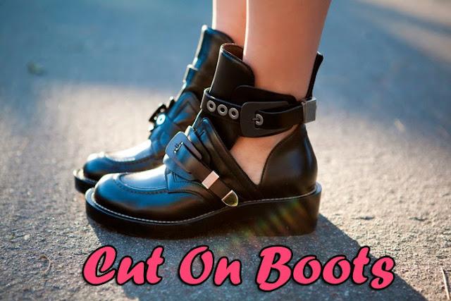 Tendência, Cut on boots