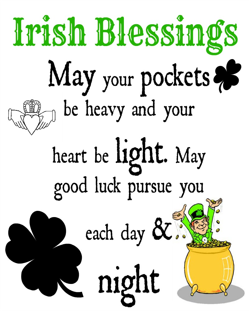 * Nubia_group Inspiration *: Sharing Irish Blessings (from ...