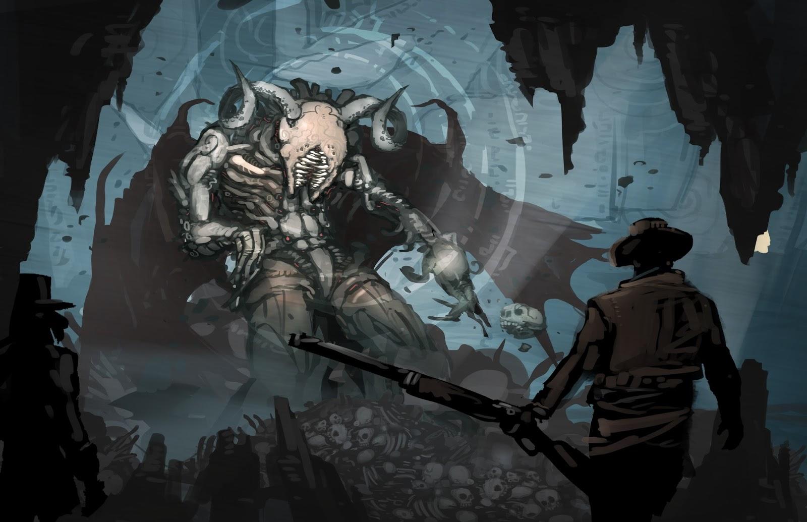 The Art of Brandon Gillam: Shadow of Brimstone Artwork!