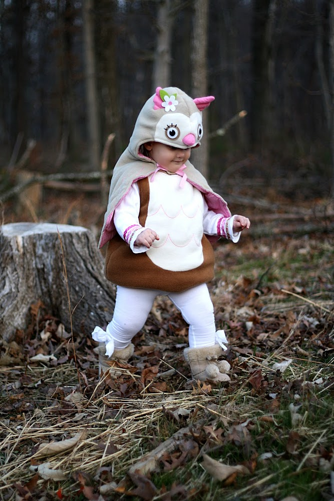 Pottery barn Owl Costume