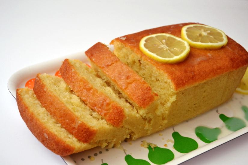 Lemon Pound Loaf Cake Recipe