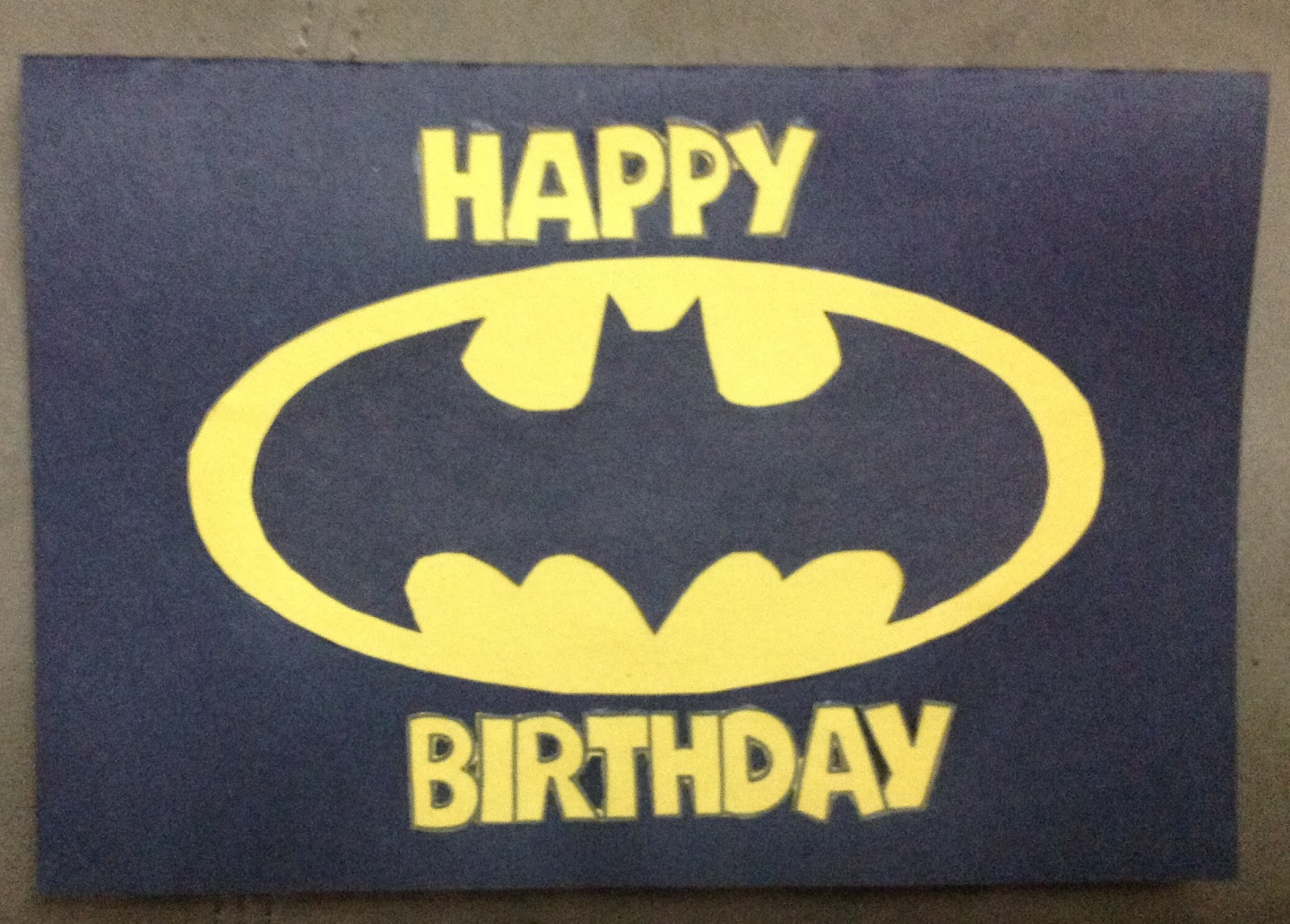 Astounding image intended for batman printable birthday card