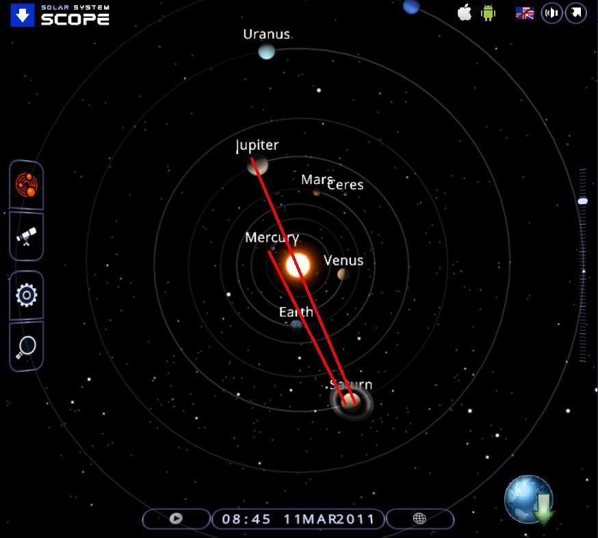 moon and jupiter alignment - photo #32
