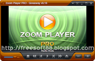 Zoom Player Pro 8.50