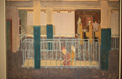 Rotko, Entrance to a Subway – 1938
