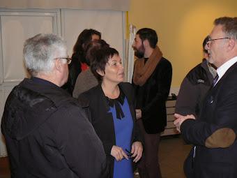 réunion janvier 2014 Annick Girardin