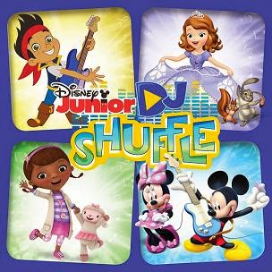 Disney Junior DJ Shuffle cd cover