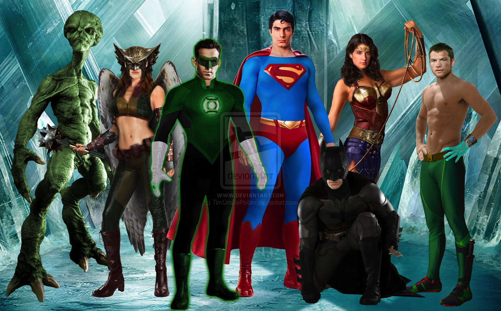 Justice league characters online news icon