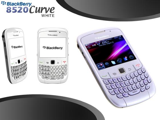 BlackBerry Curve 8520 White