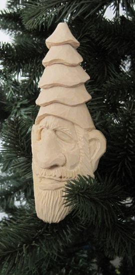 Cartoons carvings tree elf carving